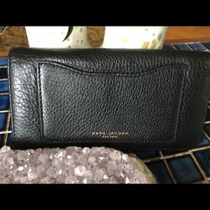 Marc Jacobs New York Black Leather Wallet